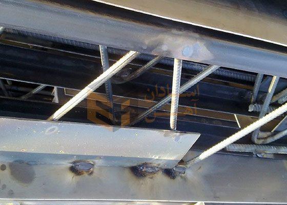 بررسی اجزای تشکیل دهنده تیرچه فلزی